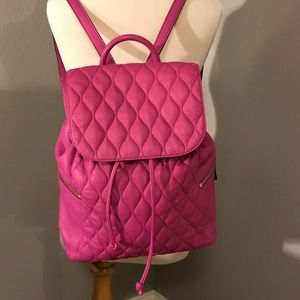 Vera Bradley Quilted Leather Amy Backpack